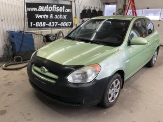 Used 2008 Hyundai Accent 3dr HB Man L for sale in St-Raymond, QC