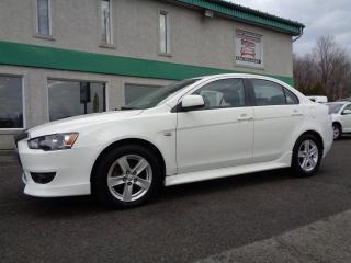 Used 2013 Mitsubishi Lancer Berline 4 portes, boîte manuelle, SE, tr for sale in St-Jérôme, QC