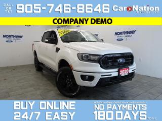 Used 2020 Ford Ranger LARIAT | 4X4 |SUPERCREW |501A|BLACK APPEARANCE PKG for sale in Brantford, ON