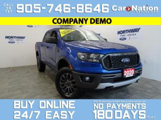 Used 2020 Ford Ranger XLT | 4X4 | SUPERCREW | SPORT APPEARANCE PACKAGE for sale in Brantford, ON