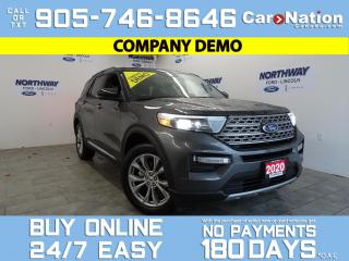 Used 2020 Ford Explorer LIMITED | 4X4 | LEATHER | PANO ROOF | NAV for sale in Brantford, ON