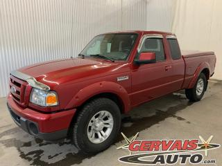 Used 2010 Ford Ranger Sport V6 4X4 A/C Mags Groupe Électrique *Transmission Automatique* for sale in Shawinigan, QC