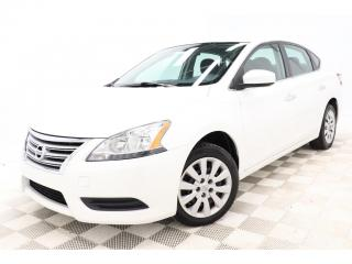 Used 2014 Nissan Sentra S *AUTOMATIQUE *A/C *CRUISE *GR-ELECTRIQUE for sale in St-Hubert, QC