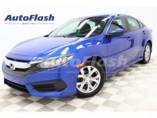 Used 2016 Honda Civic *LX *MAGS *AUTOMATIQUE *A/C *CRUISE *GR-ELECTRIQUE for sale in St-Hubert, QC
