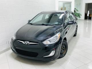 Used 2013 Hyundai Accent Voiture à hayon, 5 p, boîte man GL *Disp for sale in Chicoutimi, QC