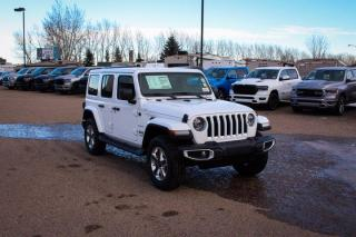 New 2021 Jeep Wrangler Sahara   Heated Seats & Steering Wheel   Navigation   Remote Start for sale in Medicine Hat, AB