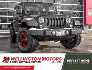 Used 2017 Jeep Wrangler Sport >> Modified w/ 2 Inch Lift & 33 Inch Tires!! for sale in Guelph, ON