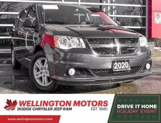 Used 2020 Dodge Grand Caravan Crew Plus - Rear DVD - Navi - Super Low K's !! for sale in Guelph, ON