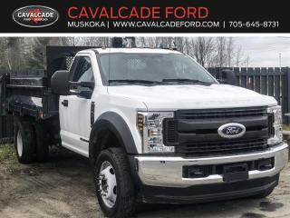 Used 2018 Ford F-550 Super Duty DRW XL for sale in Bracebridge, ON