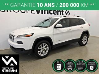 Used 2015 Jeep Cherokee NORTH 4X4 ** GARANTIE 10 ANS ** VUS efficace dans la neige et les sentiers! for sale in Shawinigan, QC