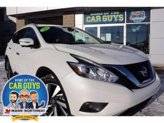 Used 2016 Nissan Murano SL | One Owner, No Accidents. for sale in Prince Albert, SK