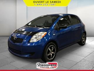 Used 2008 Toyota Yaris LE * JAMAIS ACCIDENTE* for sale in Donnacona, QC