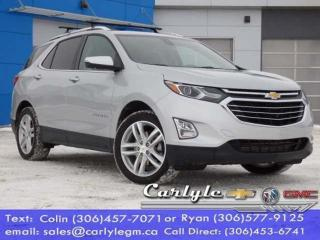 Used 2019 Chevrolet Equinox Premier for sale in Carlyle, SK