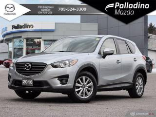 Used 2016 Mazda CX-5 GS - ONE OWNER - CLEAN HISTORY for sale in Sudbury, ON