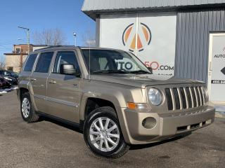 Used 2010 Jeep Patriot ***AUTOMATIQUE,4X4,A/C,BAS KILO*** for sale in Longueuil, QC