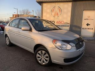 Used 2011 Hyundai Accent ***BERLINE,AUTOMATIQUE,ECONOMIQUE*** for sale in Longueuil, QC
