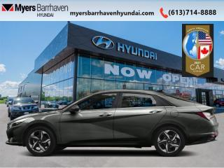 New 2021 Hyundai Elantra Preferred w/Sun & Tech Package IVT  - $158 B/W for sale in Nepean, ON