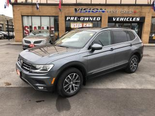 Used 2018 Volkswagen Tiguan Comfortline 4MOTION-PANO ROOF-BACK UP CAMERA for sale in North York, ON