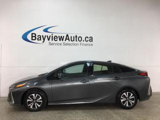 Used 2018 Toyota Prius Prime Upgrade - PLUG IN HYBRID! NAV! REVERSE CAM! + ONLY 22,000KMS! for sale in Belleville, ON