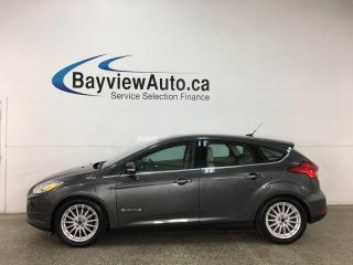 Used 2018 Ford Focus Electric - HTD LEATHER! NAV! for sale in Belleville, ON