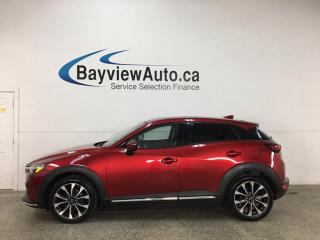 Used 2019 Mazda CX-3 GT - AWD! NAV! SUNROOF! HTD LEATHER! LOADED! for sale in Belleville, ON
