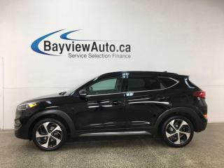 Used 2016 Hyundai Tucson Limited - AWD! PANOROOF! NAV! HTD LEATHER! LOADED! for sale in Belleville, ON