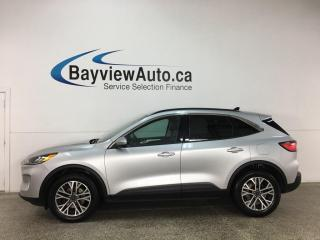 Used 2020 Ford Escape SEL - AWD! HTD LEATHER! NAV! SYNC! LOADED! for sale in Belleville, ON