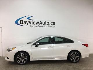 Used 2017 Subaru Legacy Sport Technology - AWD! SUNROOF! 1/2 LEATHER! ALLOYS! + MORE! for sale in Belleville, ON