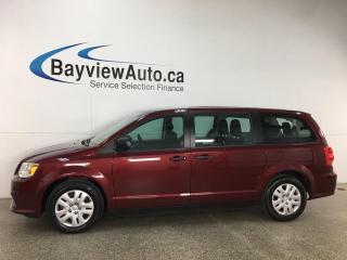 Used 2018 Dodge Grand Caravan CVP/SXT - REVERSE CAM! ONLY 17,000KMS! for sale in Belleville, ON