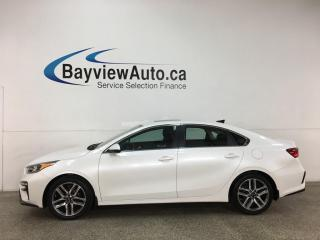 Used 2020 Kia Forte EX - AUTO! SUNROOF! HTD SEATS! REVERSE CAM! + MORE! for sale in Belleville, ON