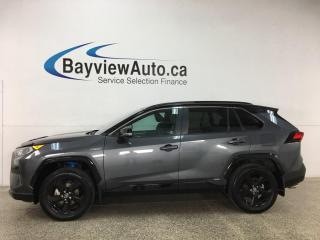 Used 2019 Toyota RAV4 Hybrid XLE - AWD! HTD LEATHER! SUNROOF! NAV! LOADED! for sale in Belleville, ON