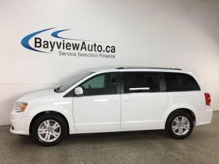 Used 2020 Dodge Grand Caravan Crew - LEATHER! NAV! DVD! 3 ZONE CLIMATE! PWR DOORS! for sale in Belleville, ON