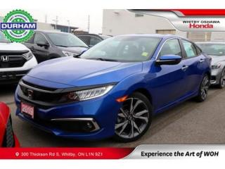 Used 2019 Honda Civic Touring for sale in Whitby, ON