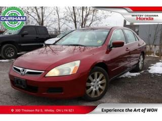 Used 2006 Honda Accord V6 for sale in Whitby, ON