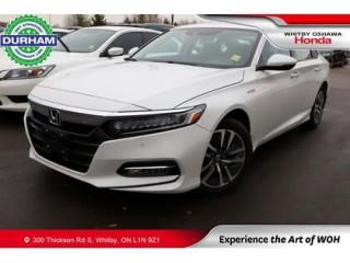 Used 2020 Honda Accord Hybrid Touring CVT for sale in Whitby, ON