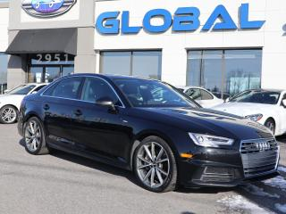 Used 2017 Audi A4 Technik for sale in Ottawa, ON