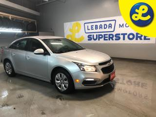 Used 2016 Chevrolet Cruze LT Turbo * Rear Vision Camera display integrated into Chevrolet MyLink radio  * Cruise Control * Steering Wheel Controls * Hands Free Calling * Keyles for sale in Cambridge, ON