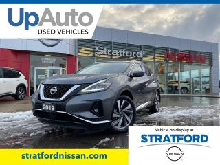 Used 2019 Nissan Murano SL for sale in Stratford, ON