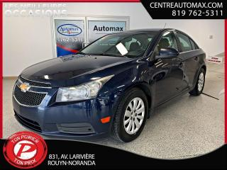 Used 2011 Chevrolet Cruze LT for sale in Rouyn-Noranda, QC