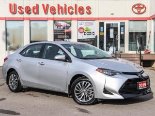 Used 2019 Toyota Corolla XLE SUNROOF  LEATHER NAVIGATION for sale in North York, ON