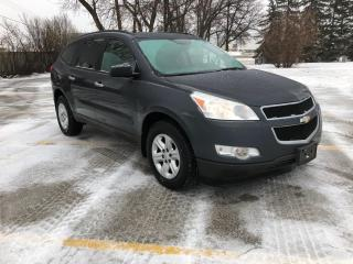 Used 2011 Chevrolet Traverse 1LS AWD 3.6L 7 Seater! for sale in Winnipeg, MB