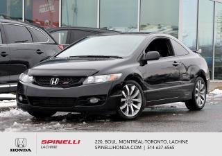Used 2010 Honda Civic Si MANUELLE AUBAINE 2.0L VTEC , MANUELLE 6 VITESSES for sale in Lachine, QC
