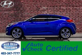 Used 2013 Hyundai Veloster Tech Roof Nav BCam for sale in Red Deer, AB