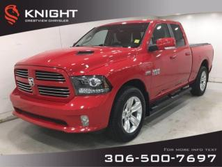 Used 2014 RAM 1500 Sport Quad Cab for sale in Regina, SK