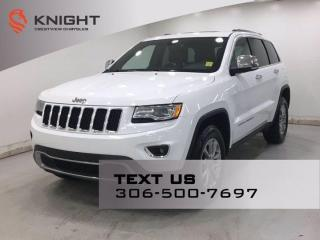 Used 2015 Jeep Grand Cherokee Limited 4x4 | Leather | Sunroof | Navigation | for sale in Regina, SK