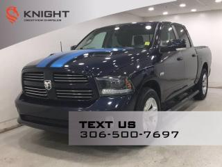 Used 2015 RAM 1500 Sport Crew Cab | Leather | for sale in Regina, SK