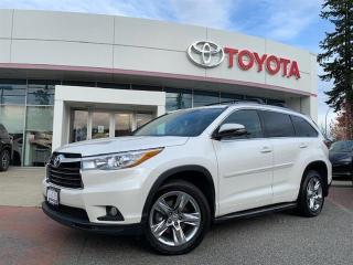 Used 2015 Toyota Highlander LTD AWD for sale in Surrey, BC