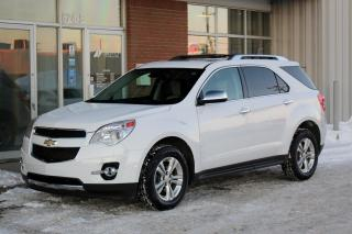 Used 2012 Chevrolet Equinox LTZ AWD - LEATHER - REVERSE CAM - MOONROOF for sale in Saskatoon, SK
