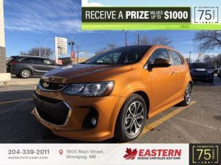 Used 2017 Chevrolet Sonic LT RS | No Accidents | Sunroof |  Backup Cam | for sale in Winnipeg, MB