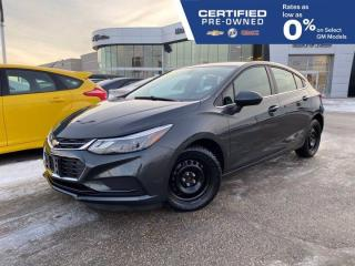 Used 2018 Chevrolet Cruze LT FWD | Touchscreen Radio | Heated Seats for sale in Winnipeg, MB